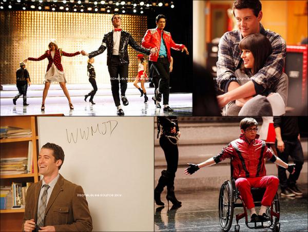 Photoshoot : Lea & une partie du cast de Glee (Darren, Chris et Naya) pour le magazine TV Guide. Ton avis ?