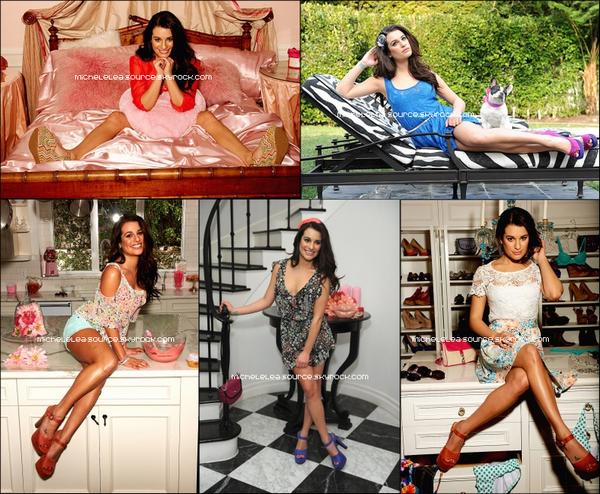 Découvrez le photoshoot complet de Lea pour la marque Candie's ! Ton avis ?