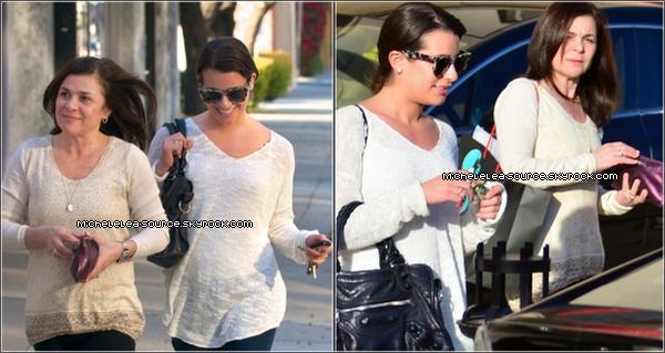 04/02/12 - Lea de sortie avec sa mère à Los Angeles. Top ou Flop ?