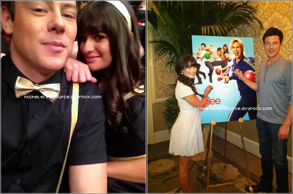 Lea Michele & Cory Monteith, en couple ?
