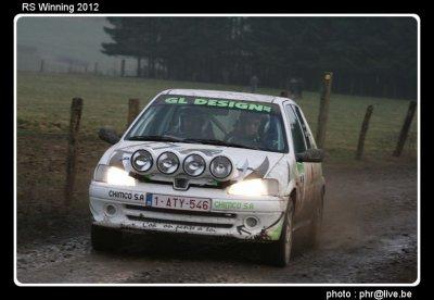 Rallye sprint Erezée 2012