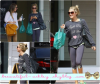 Le 24 Septembre : Ashley & son amie Hailye Duff sortant de Bellacures Nail Salon !