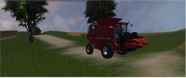 battage des maïs