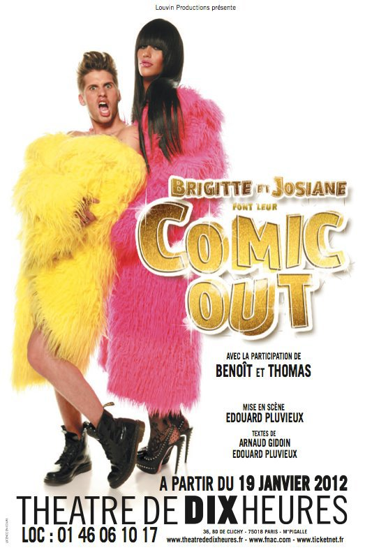 Brigitte & Josiane font leur Comic Out