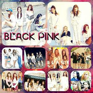 Photo collage special Bkack pink(c un peu floue vraiment désolée)