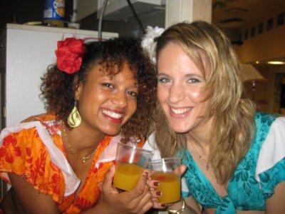 Aurélie et Laetitia