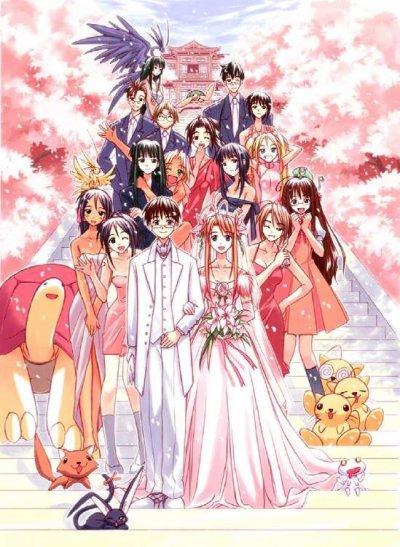 Love Hina le manga d'amour