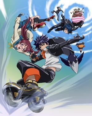 Air Gear le manga de glisse
