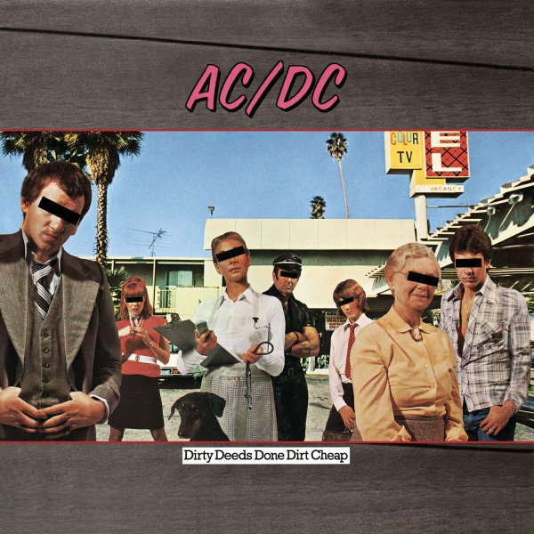 AcDc - Dirty Deeds Done Dirt Cheap 20Septembre1976