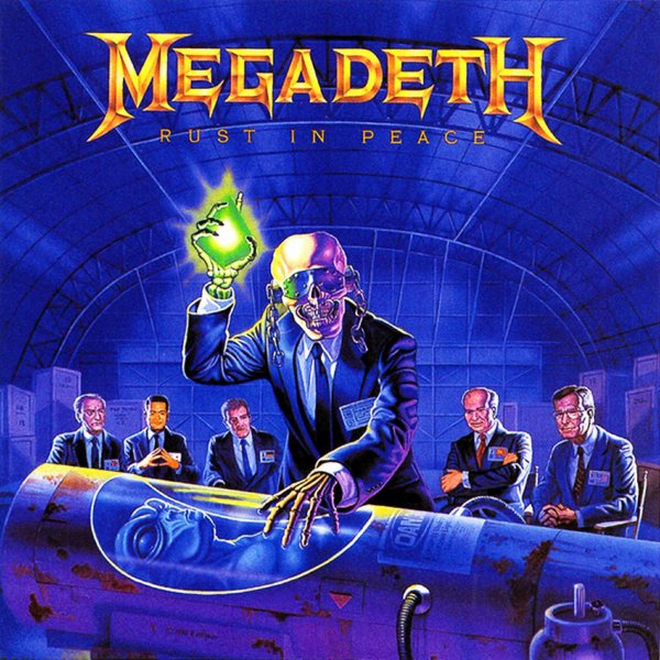 Megadeth - Rust In Peace 24Septembere1990