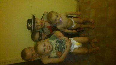 mes neveux en carnavaleux