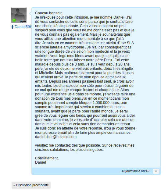 A tous les Skyblogueur/Skyblogueuses, Attention Arnaque !