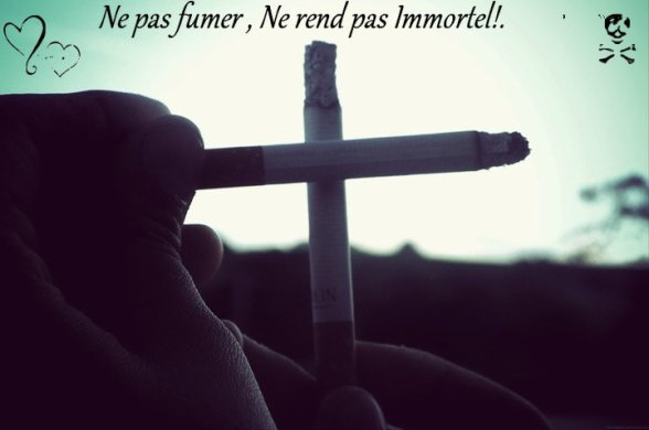 Never Smoke ßabe !