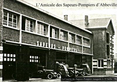 photo du passé caserne pompiers d abbeville