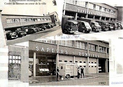 pompiers d abbeville: implantation de la caserne