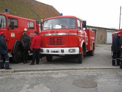ancien FPT berliet des pompiers de beauchamps