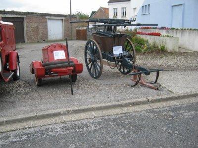 ancienne pompe pompiers