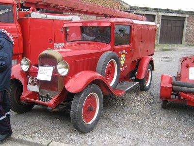 ancienne voiture pompiers cayeux sur mer