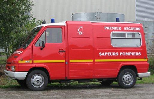 ancienne ambulance de pompiers