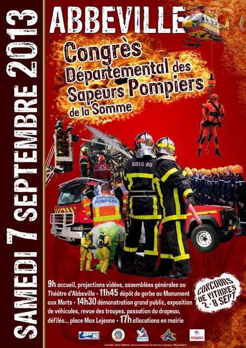 congres pompiers abbeville