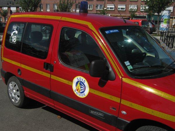 VLID sdis 80  des pompiers de saint valery sur somme