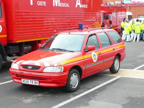 vl ford escort sdis 80
