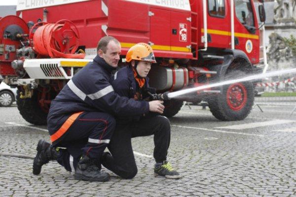 participation pompier abbeville telethon 2013