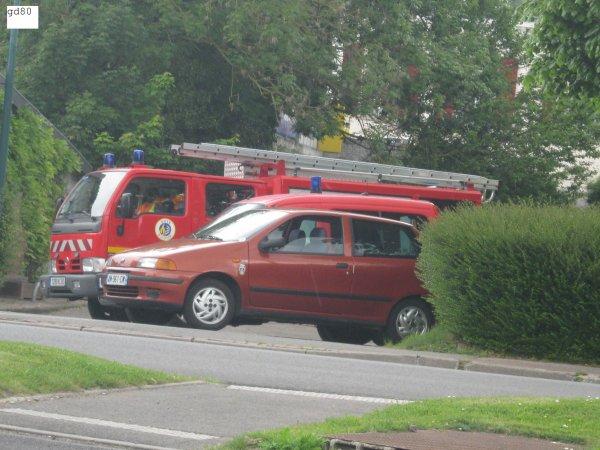 vehicules pompiers  du cs nouvion (80)