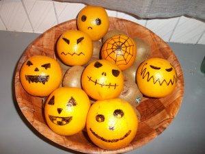 DIY : spécial halloween! Les oranges