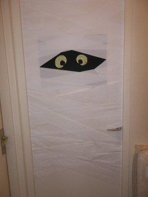 DIY : spécial halloween! La porte