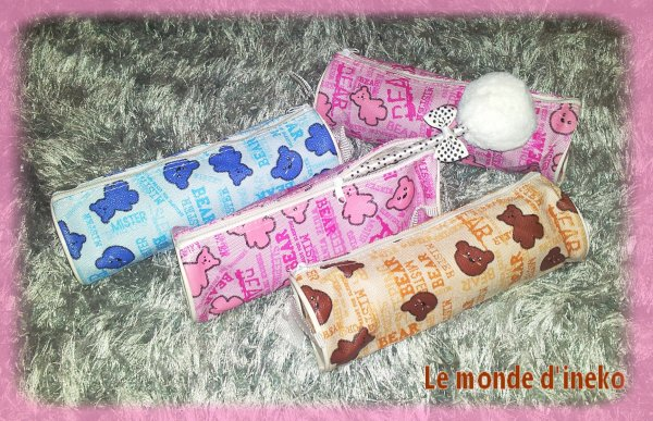 Trousse kawaii kuma