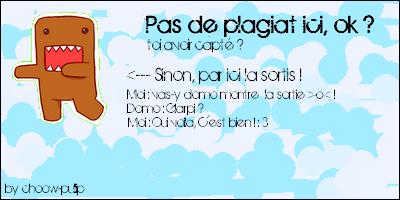 PAS DE PLAGIAT ICI >o< !