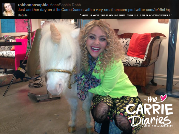 Twitter time des acteurs de The Carrie Diaries!