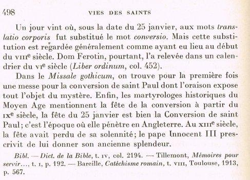 Conversion de saint Paul 2011 (II).