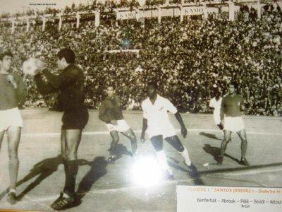 L'histoire des grands gardiens de but Algériens: ABROUK  Mohamed