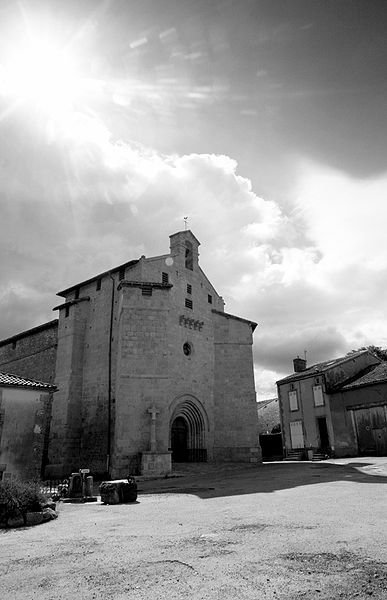 Ci-dessous l'église de Blond (Haute Vienne) où se sont mariés la plupart des membres proches de ma famille