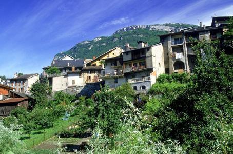 Un aperçu de la ville de Montmélian