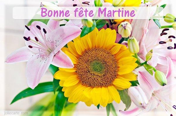 CADEAU POUR TOUTES MES AMIES MARTINE