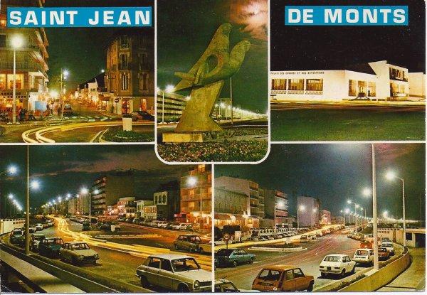 Voici des photos de St Jean de Monts où nous avons passé quelques jours de vacances