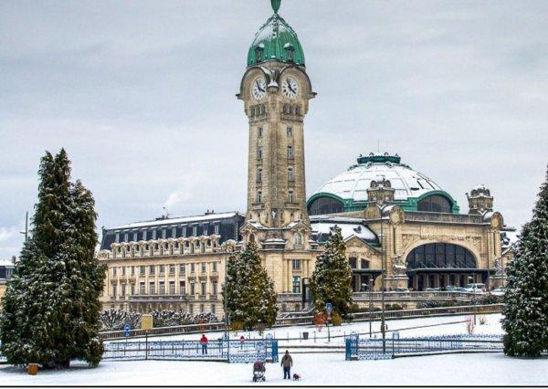 Ci-dessous photo de notre belle gare de Limoges avec de gros bisous de votre amie Mimi