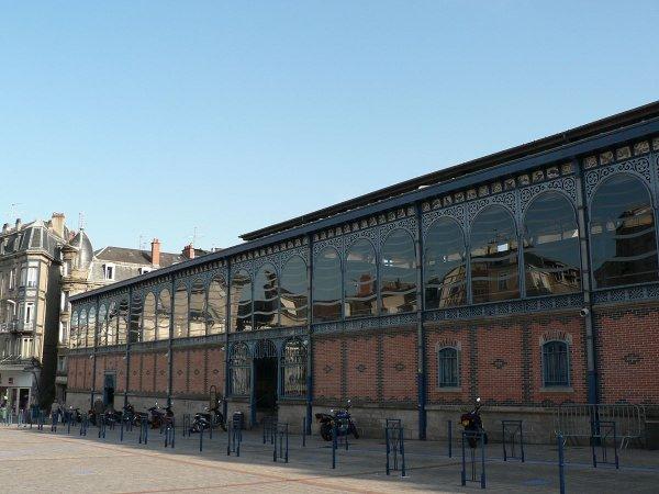 ci-dessous quelques photos des Halles de Limoges qui ont été rénovées et qui sont magnifiques de magnifiques super réalisation
