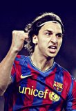 Photo de Ibrahimovic-Barca