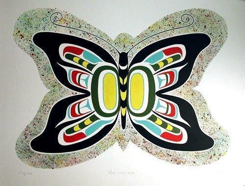 Animal Totem. Le Papillon