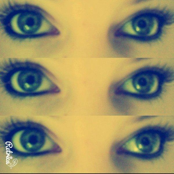 mes yeux #A mdrrrrrr xD