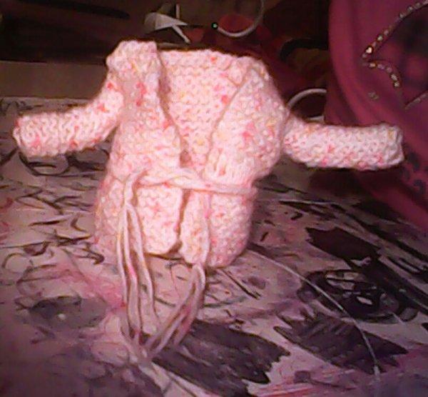 se que j'ai tricoter avec ma mamie*3*
