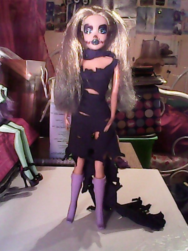 custom d'une barbie