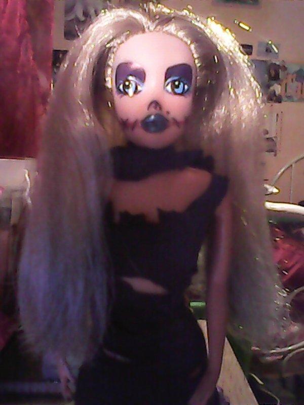 custom d'une barbie