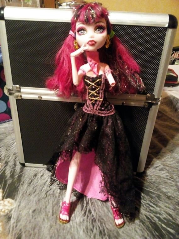 New mh Draculaura 13wish