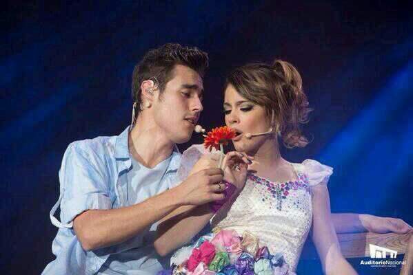 Tini et Jorge♥