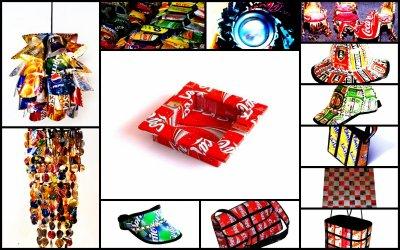 Objets faits a partir de canettes at 39 art machiine x3 - Fabriquer des objets ...